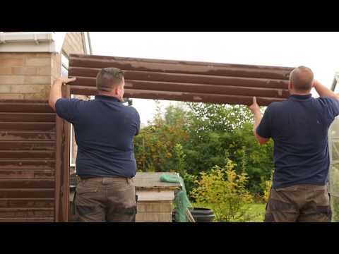 Liniar fencing for an easy installation