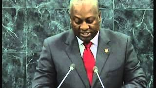 PRESIDENT JOHN MAHAMA'S SPEECH ON UN SUMMIT- Joy news 2013