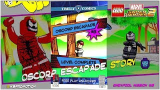 Lego Marvel Superheroes 2: Gwenpool Mission 8 / Oscorp Escapade STORY - HTG