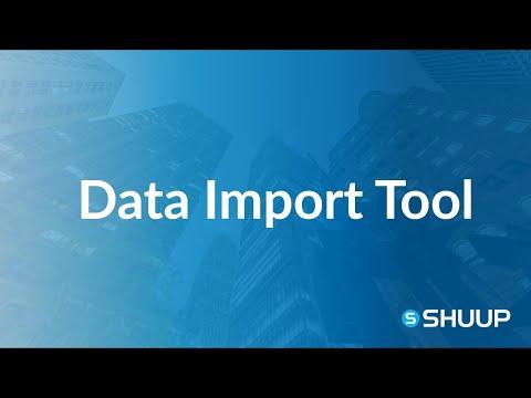 Data Import Tool