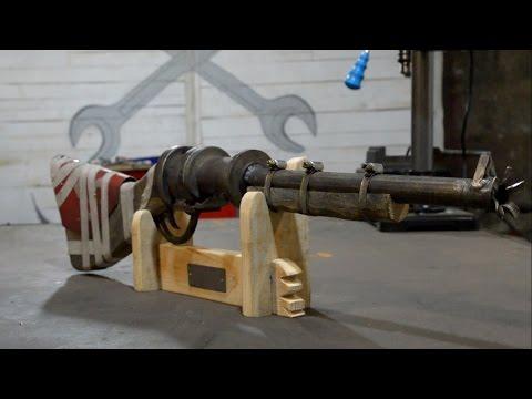 Как сделать Pipe Shotgun из игры раст  Rust Pipe Shotgun.