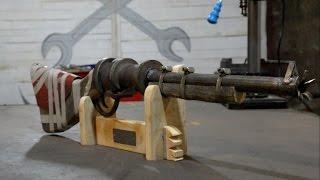 Как сделать Pipe Shotgun из игры раст  Rust Pipe Shotgun.(В этом видео создаю полную копию Pipe Shotgun из игры Rust. Основными материалами для ружья стали металл и дерево...., 2016-01-04T07:19:42.000Z)