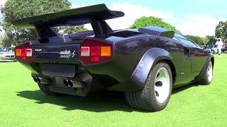 Lamborghini Countach LP500S Specifications Power 276 kw (370 bhp / ...