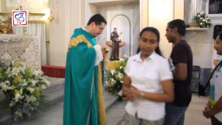 Saint Anthony Annual Mass Napoli S.teresa 2015