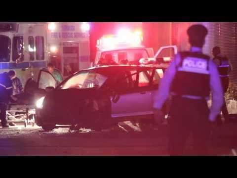 Accident Cemetery Road Bermuda Apr 29 2012
