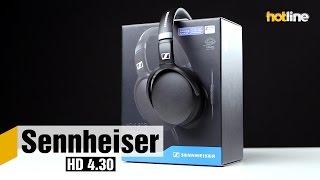 sennheiser HD 4.30  обзор полноразмерных наушников