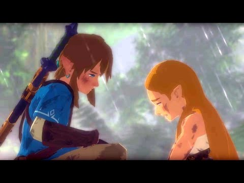 The Legend of Zelda: Breath of the Wild Music Video (Take My Breath Away - DA Games)