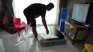 Unboxing TV Samsung Led TV Samsung 43