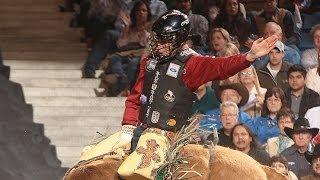 WINNING RIDE: Jordan Hupp wins Denver Rodeo All-Star event (PBR)