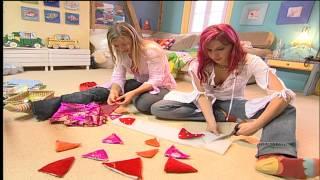 Deko Tipps fürs Kinderzimmer: Stoffdrache nähen