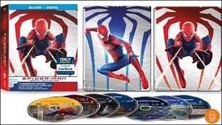 Spider-Man Legacy Collection SteelBook Blu-Ray Unboxing