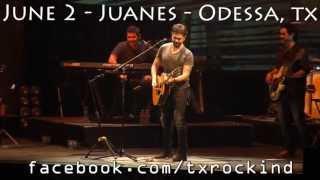 Juanes - Me Enamora EN VIVO ODESSA, TEXAS