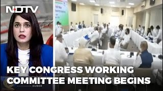 At Key Congress Meet, Election For New Chief, State Polls On Agenda