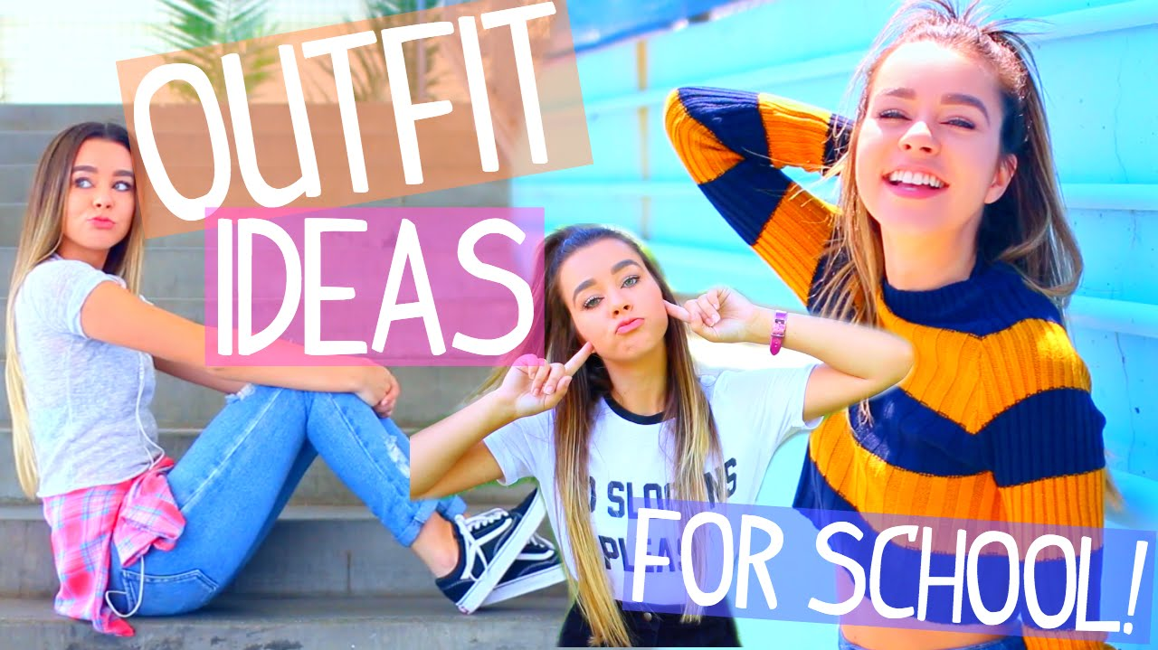 fda0d58b98e6 Outfit Ideas For School! 8 Easy   Cute Back To School Outfits! - YouTube
