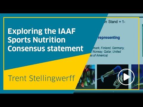 Exploring the IAAF Sports Nutrition Consensus statement, Trent Stellingwerff