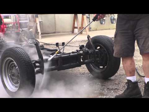 Classic VW BuGs How to Steam Clean Power Wash Blast your Vintage Beetle Chassis