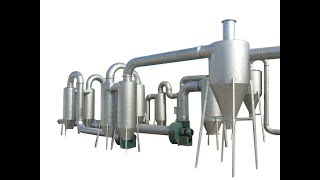 Small Dryer- Air Flow Pipe Dryer