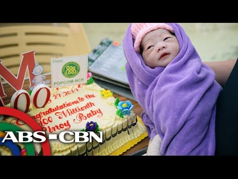 PH welcomes 100 millionth baby