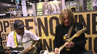Andy Timmons - Eric Gales - NAMM 2013