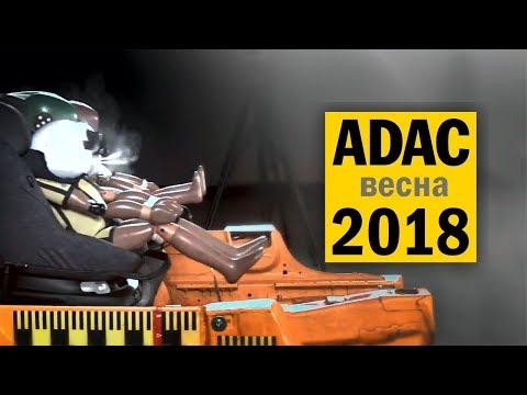 Краш-тесты детских автокресел ADAC 2018#1 на русском