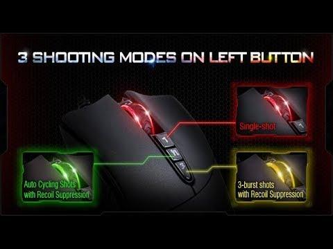Обзор ПО для мыши - Bloody 7