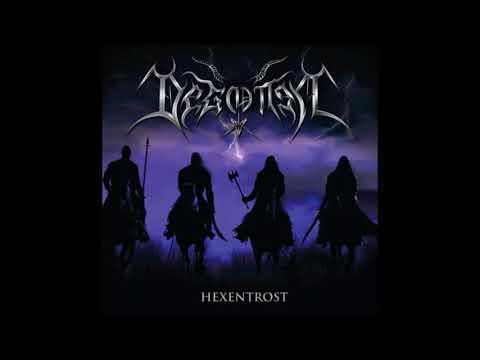 Degotten - Hexentrost (Full-length : 2017) Black/Thrash Metal From Chile