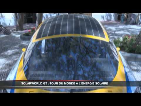 Solarworld GT : le tour du monde à l'énergie solaire