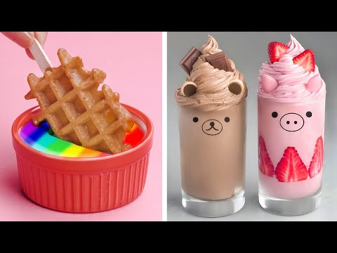 Awesome Tasty Chocolate Dessert | Easy Dessert Recipes | So Yummy Cookies Decorating Ideas