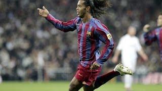 Goles en el Bernabéu: la magia de Ronaldinho en 2005