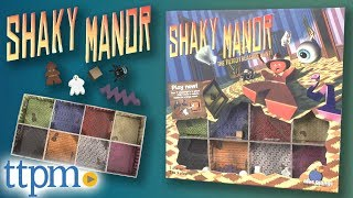 Shaky Manor from Blue Orange Games