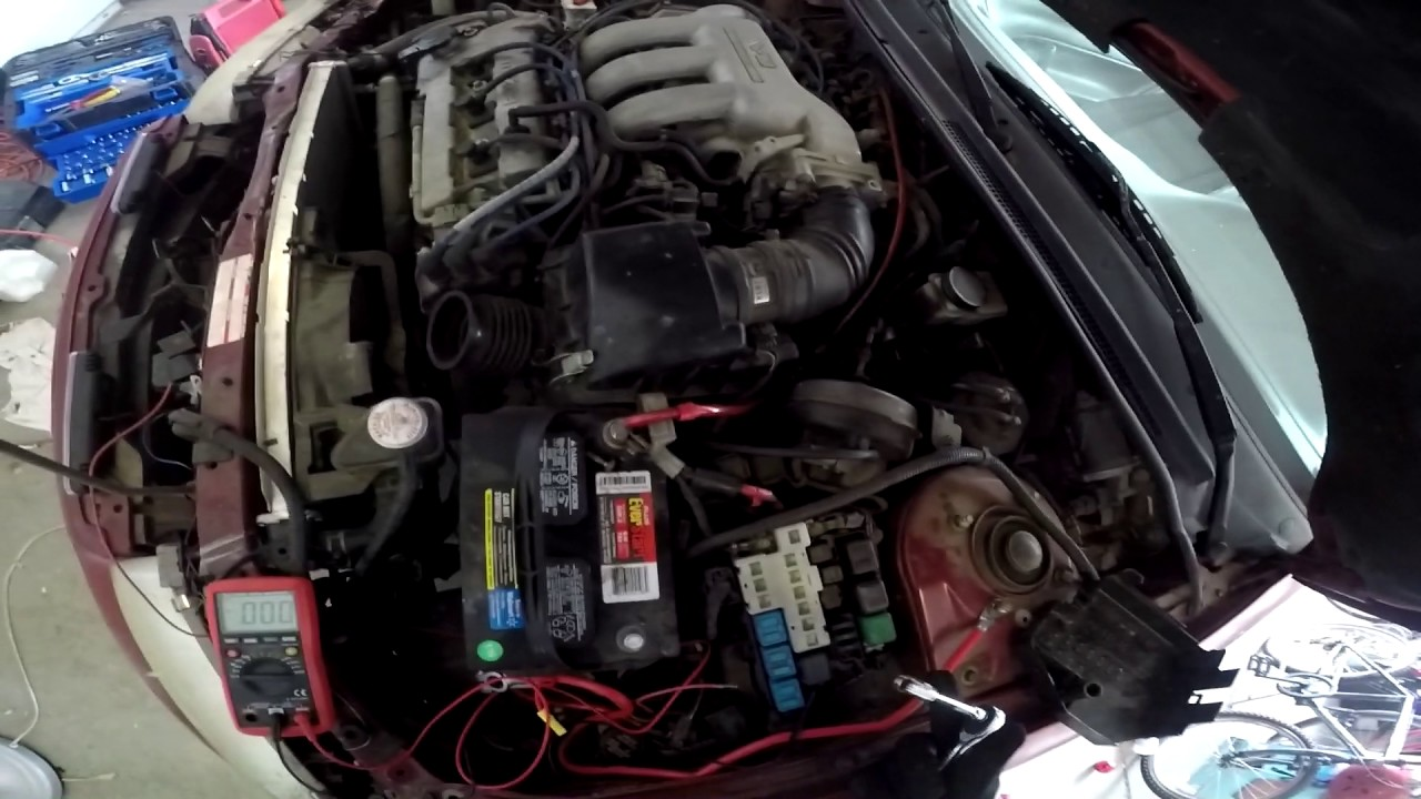 Diagnosing and repairing A Dead car with No Electrical Power | 1993 Mazda  MX-6