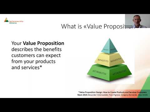 Webinar 4 : Find a Market: Define your Value Proposition