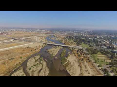 Bakersfield view by drone