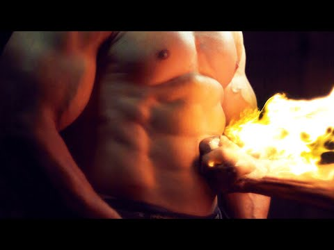 Human Torch vs Incredible Hulk in Super Slow Motion