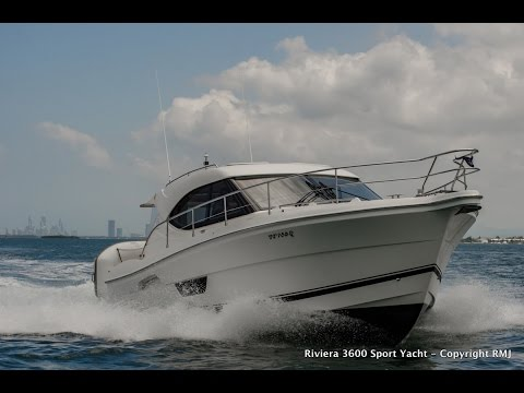 Riviera 3600 Sport Yacht for sale with R Marine Jones