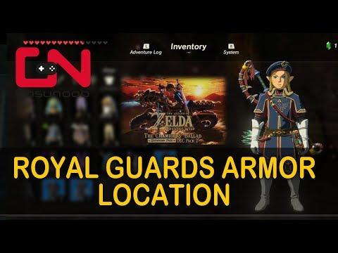Zelda BoTW Royal Guard's Armor Set Location
