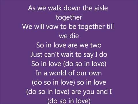 All 4 One So in love wLyrics