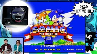 sega-genesis-mini-unboxing-gameplay-sonic-hedgehog-2-heat-vision