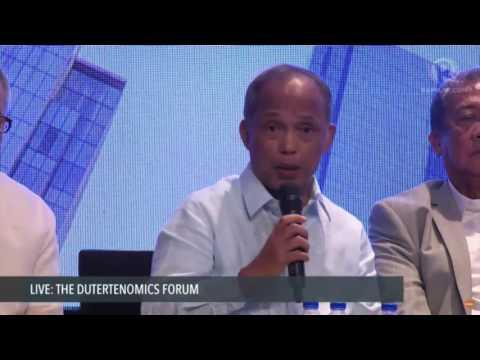 Dutertenomics Forum: Mike Toledo asks Alfonso Cusi about Malampaya