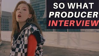 INTERVIEW with LOONA - So What PRODUCER (David Anthony)