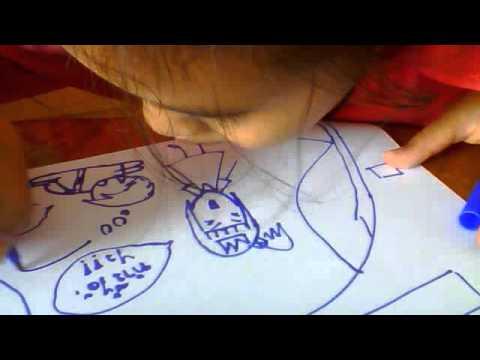 สอนวาดรูปติ้งต๊อง by.แบมบี้