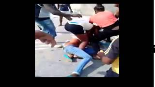 pelea mortifera de NIGGAS en yaracuy