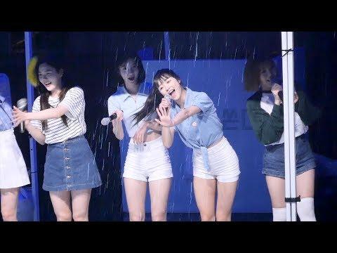 180517 오마이걸 OH MY GIRL 유아 YooA 직캠 : 팬들과 컬러링북 연습 : 서울시립대학교 축제