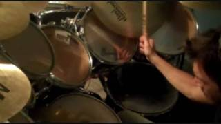 Iron maiden cover-be quick or be dead drum