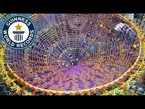 Thumbnail: Largest K'NEX ball contraption - Guinness World Records