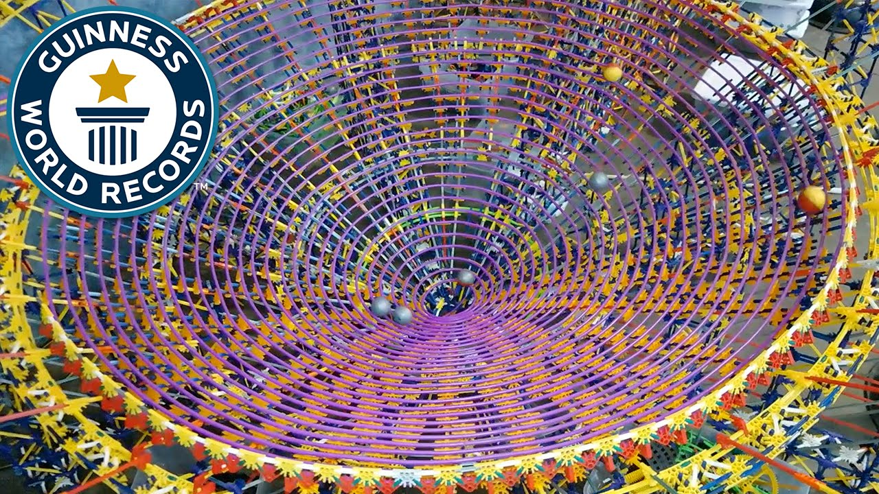 Largest K Nex Ball Contraption Guinness World Records