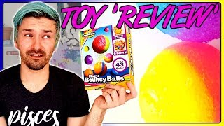 DIY Rubber Bouncy Balls | Artist Tests Magic Bouncy Balls | Adult Tries Kids Toys