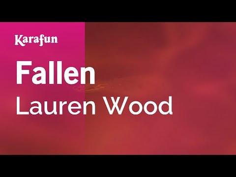 Karaoke Fallen - Lauren Wood *