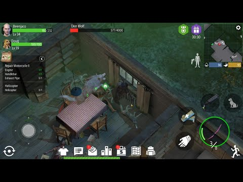 The Struggle That Is Capturing A Dire Wolf - Z Shelter - Episode 20