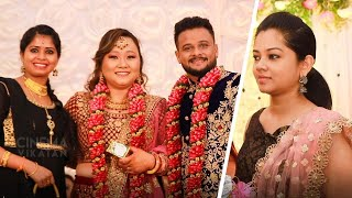 "Exclusive: Anitha Sampath , Jangiri Madhumitha attend ""Adithya Tv"" Thaapa Wedding Reception"